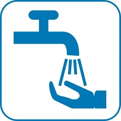 Symbole zu Hygienevorschriften