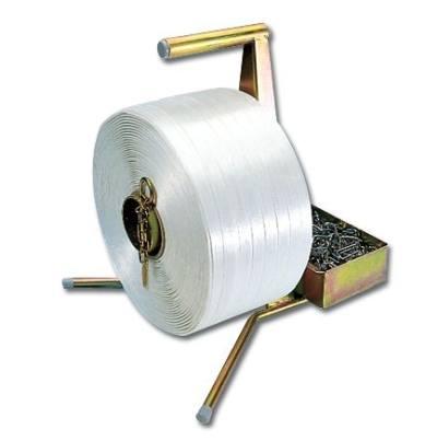 Umreifungsband mit Abroller