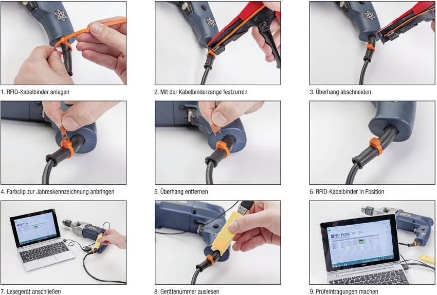 Funktion RFID-Kabelbinder