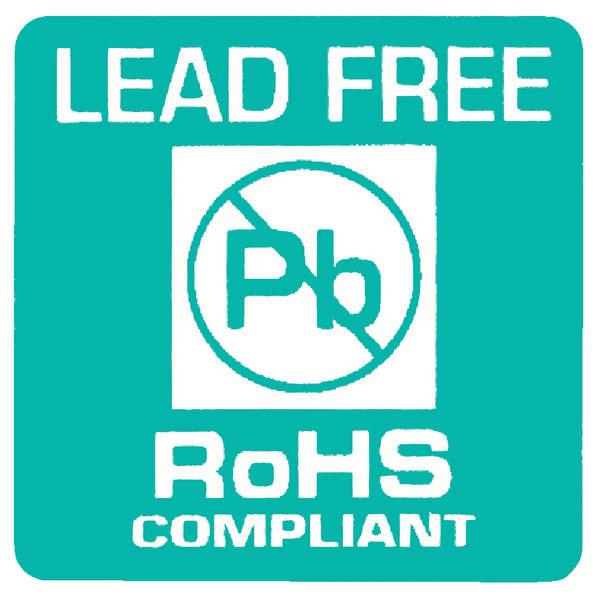 Konfomitätskennzeichen Lead Free RoHS