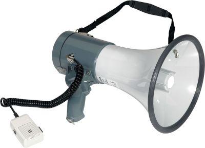 Megaphon mit Mikrofon und Schultergurt