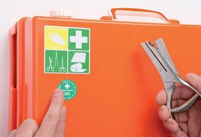 SETON Hygiene Plakette Erste Hilfe
