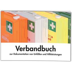 Verbandbuch zur Dokumentation von Unfällen