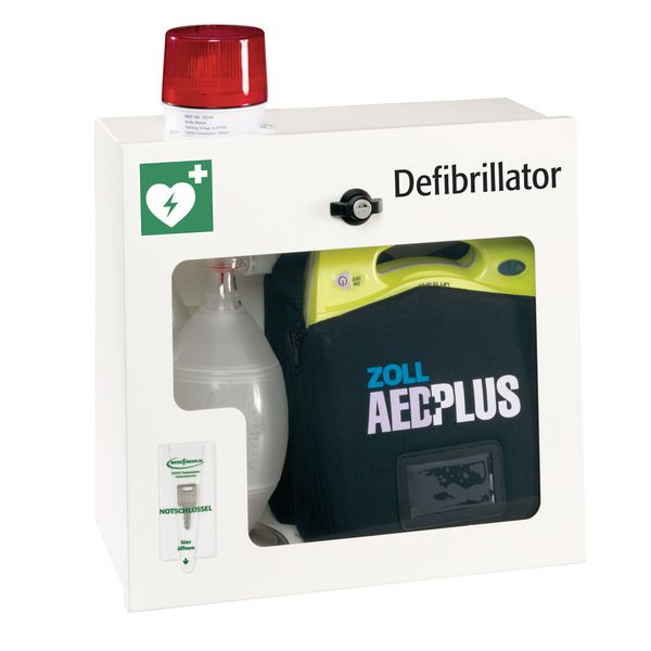 AED Zoll Plus Wandschrank zur Defi Aufbewahrung