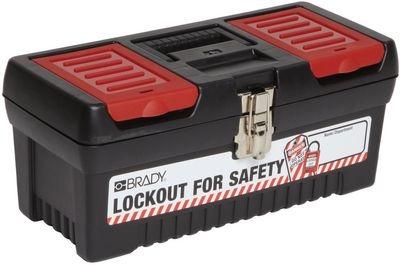 Geschlossener Lockout-Werkzeugkoffer