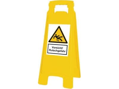 Warnaufsteller Vorsicht! Rutschgefahr