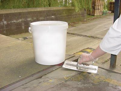 Reparaturmasse zur Betonreparatur