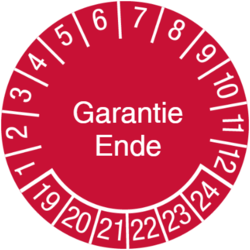 Garantie Ende