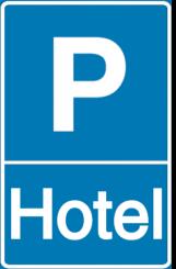 Vorlage: Parkschild - Hotel