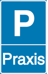 Vorlage: Parkschild - Praxis