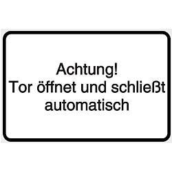 Vorlage: Tor öffnet und schließt automatisch