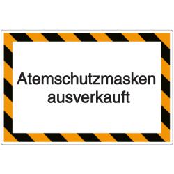 Vorlage: Atemschutzmasken ausverkauft