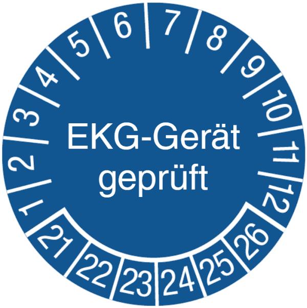 EKG-Gerät geprüft