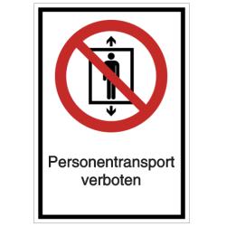 Vorlage: Personentransport verboten