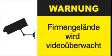 Vorlage: Firmengelände wird videoüberwacht