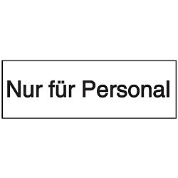Vorlage: Nur für Personal