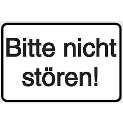Vorlage: Folienschild - Bitte nicht stören