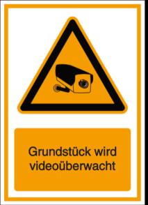 Vorlage: Grundstück wird videoüberwacht