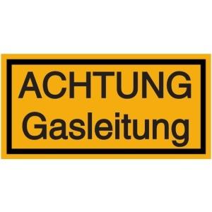 Vorlage: ACHTUNG Gasleitung