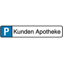 Vorlage: Parkplatzreservierung - Kunden Apotheke