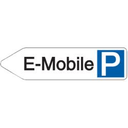 Vorlage: Parkplatz-Wegweiser E-Mobile