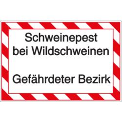Vorlage: Schweinepest bei Wildschweinen - Gefährdeter Bezirk