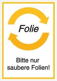 Vorlage: Folie - Bitte nur saubere Folien!