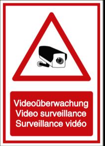 Vorlage: Videoüberwachung - Video surveillance - Surveillance vidéo (DE/ENG/FR)