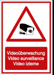 Vorlage: Videoüberwachung - Video surveillance - Video izleme (DE/ENG/TÜRK)