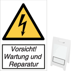 Vorlage: Vorsicht! Wartung und Reparatur