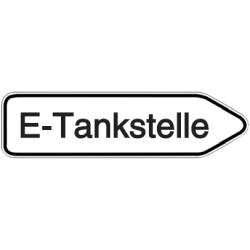 Vorlage: Wegweiser E-Tankstelle
