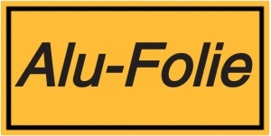 Vorlage: Alu-Folie