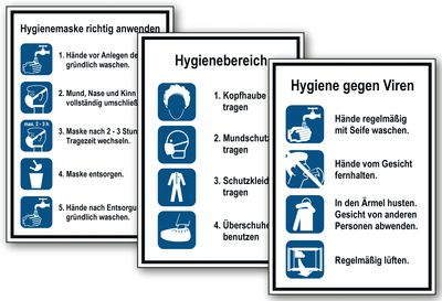 Hygieneschilder