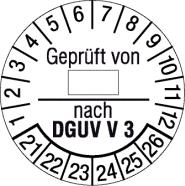 Geprüft von [...] nach DGUV V 3