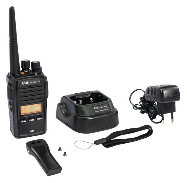 Walkie-talkie portátil multitarea IP67 - Seton