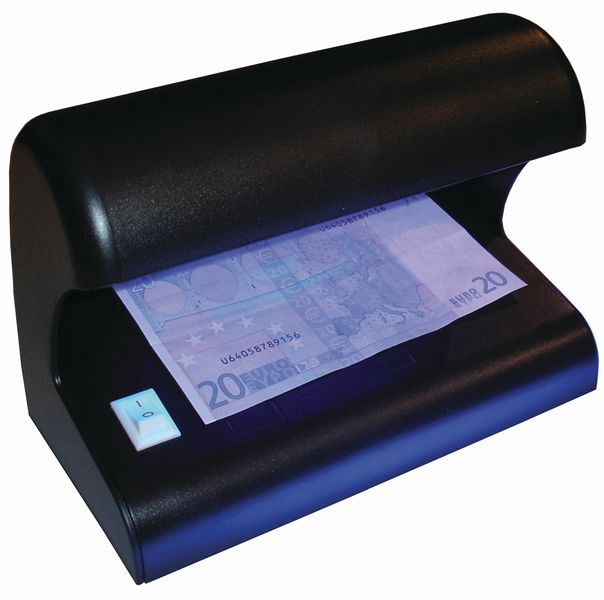 Detector de billetes y documentos falsos