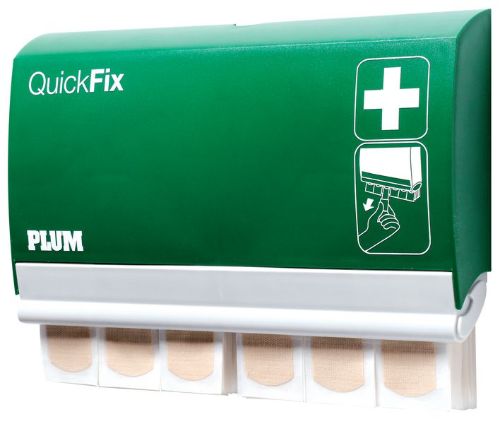 Dispensador mural de tiritas QuickFix