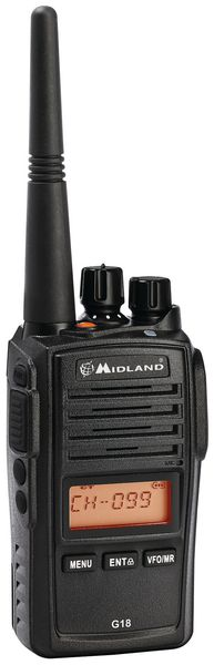 Walkie-talkie portátil multitarea IP67