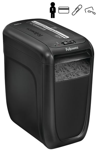 Destructora de papel Fellowes 60CS, 1 persona, 22 L