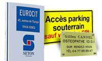 Panneaux personnalisés