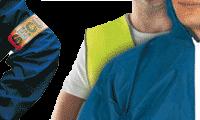 Vêtements de sécurité et brassards de sécurité