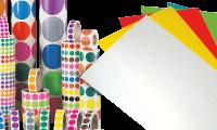 Etiquettes vierges (pastilles et imprimables)