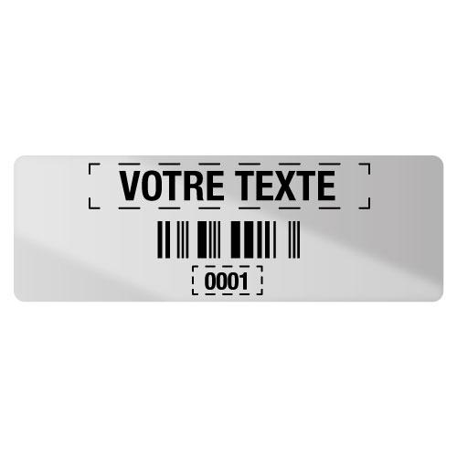 Etiquettes code à barres personnalisables en ligne