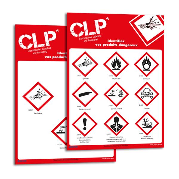 Panneaux magnétiques à symboles CLP personnalisables en ligne