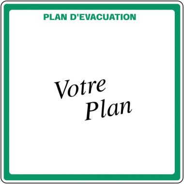 Plans d'évacuation en PVC