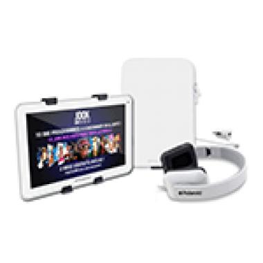Megapack tablette + housse + casque + chargeur voiture