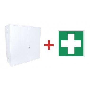 Prix Spécial - Pack armoire à pharmacie + panneau de signalisation