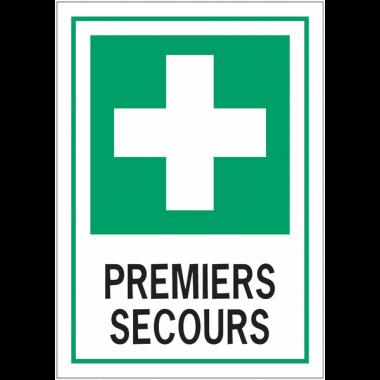 """Panneaux d'évacuation A4 et A3 """"Premiers secours"""""""