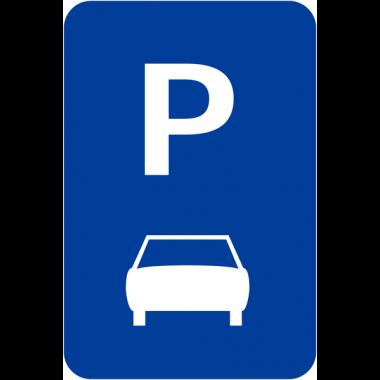 """Panneaux de signalisation """"Parking voitures"""""""
