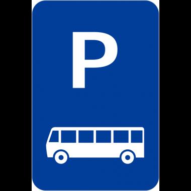 """Panneaux de signalisation """"Parking bus"""""""